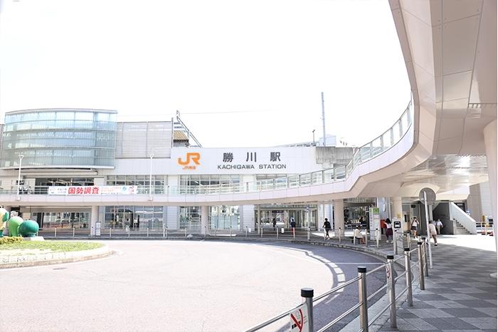 春日井 勝川駅前の施設を紹介♪