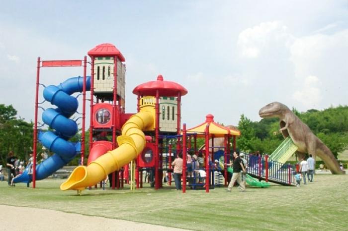 緑区の大高緑地公園で家族で遊ぼう♪その2
