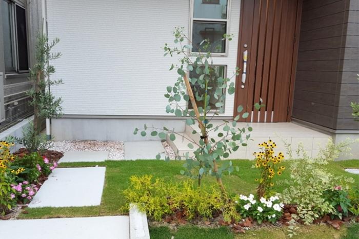 家庭菜園なども楽しめるお庭