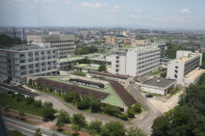 長寿医療研究センター全景